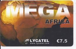 MEGA AFRICA - € 7.5 - LYCATEL - Frankrijk