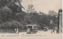 PARIS MONTMARTRE ( Le Square St Pierre Et Le Sacre Coeur ) - Distretto: 18