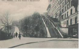 PARIS ( La Rue Muller A Montmartre ) - Distretto: 18