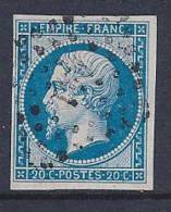 France, Scott # 15d Used Napoleon III, 1860 - 1853-1860 Napoleon III