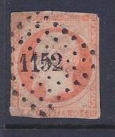 France, Scott # 18 Used Napoleon III, 1853, Close Margins - 1853-1860 Napoleon III