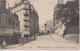 MONTMARTE ( La Rue Ravignan Coin Abesses ) - Distretto: 18