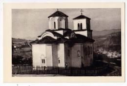 EUROPE SERBIA MONASTRY NOVA PAVLICA NEAR RAŠKA OLD POSTCARD - Serbia