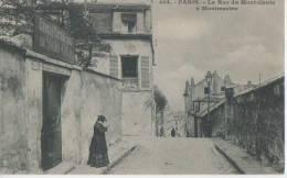 PARIS ( La Rue Du Montcenis A Montmartre ) - Distretto: 18