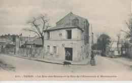PARIS ( La Rue Des Saules Et La Rue De L'abreuvoir ) - Distretto: 18