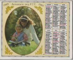 ALMANACH DES PTT 1989  EDITEUR OBERTHUR - Big : 1981-90