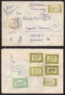 AFGHANISTAN / 1955 LETTRE AVION POUR L ALLEMAGNE (ref 3788) - Afghanistan