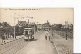 DUNKERQUE.Avenue Des Bains De Mer .Tram. - Dunkerque