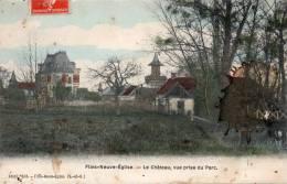 78 Flins Neuve Eglise Le Chateau Vue Prise Du Parc - Flins Sur Seine