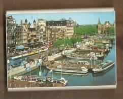 Photos, Pays-Bas - Amsterdam, Damrak -  Carnet De 10 Vues - Lieux
