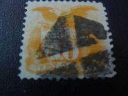 1869 :10c. PYGARGUE   COTE150  EURO N° Y/T 33 - 1847-99 General Issues