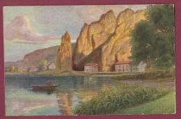 CARTE POSTALE ANCIENNE - 050512 - CHOCOLATERIE D' AIGUEBELLE -  DINANT Belgique - Aiguebelle