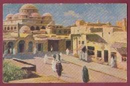 CARTE POSTALE ANCIENNE - 050512 - CHOCOLATERIE D' AIGUEBELLE -  FEZ  Maroc - Aiguebelle