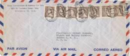 0084. Carta Aerea MONTREAL (Quebec) Canada 1953. Parrilla J - Covers & Documents