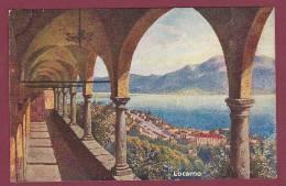 CARTE POSTALE ANCIENNE - 050512 - CHOCOLATERIE D' AIGUEBELLE -  LOCARNO - Aiguebelle