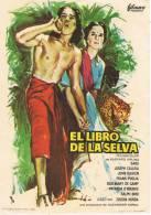 0089. Programa De Cine 1965. EL LIBRO De La SELVA. Sabú. Rudyrd Kipling - Cine