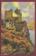 CARTE POSTALE ANCIENNE - 050512 - CHOCOLATERIE D' AIGUEBELLE -  RHEINSTEIN (sur Le Rhin) - Aiguebelle