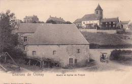 Environs De Chimay 5: Moulin Et Eglise De Forges - Chimay