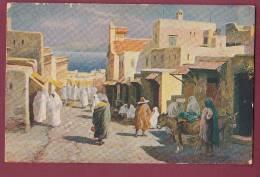 CARTE POSTALE ANCIENNE - 050512 - CHOCOLATERIE D' AIGUEBELLE -  TANGER  Maroc - Aiguebelle