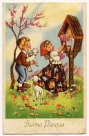 BUONA PASQUA - BAMBINI - 1954 - Formato Piccolo - Pasqua