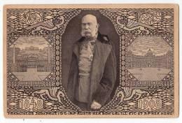 ROYAL FAMILIES EMPEROR FRANZ JOSEF JUBILEE CARD 1848-1908 OLD POSTCARD - Royal Families
