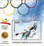 Tajikistan 1993 Summer Olympic Games Barcelona Block MNH - Tajikistan