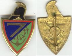GENIE - 7° Régiment - DRAGO PARIS H 214. Guilloché - Army
