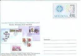 "Moldova 2012 Philatelic Exhibition ""Balkanfila"" In Maribor, Slovenia - Moldova"