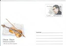 Moldova 2012 Oscar Dayn Music Teacher Violin Player Violinist - Moldova