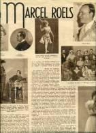 Reportage Van 1 Bladzijden - A Marcel Roels - Vieux Papiers