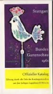 Offizieller Katalog Der BUGA ´61 Stuttgart, Bundesgartenschau 1961, 158 Seiten, 3 Pläne - Kataloge