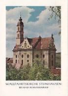 Wallfahrtskirche Steinhausen Bei Bad Schussenried, Faltblatt, 8 Seiten, 5 Abb., Um 1960 - Architektur