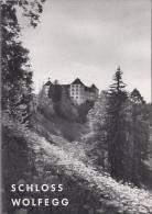 Schloss Wolfegg, Geschichte Und Führer Für Rundgang, 18 Seiten, 1962 - 3. Temps Modernes (av. 1789)