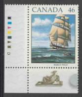 "Canada 1999 Mi 1752 A ** Full Rigged Ship ""Marco Polo"" (1851) / Trois-mâts Carré / Vollschiff / Windjammer - Boten"