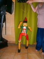 GRANDE MARIONETTE EN BOIS PINOCCHIO - Marionnettes