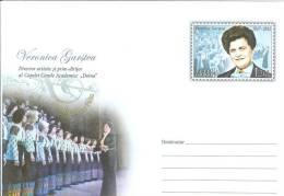 "Moldova 2012 Veronica Garstea, Musician, Academic Choir ""Doina"" Conductor Music - Moldova"
