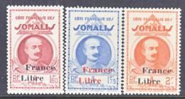 French Somali Coast 214-16  * - French Somali Coast (1894-1967)