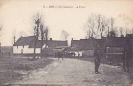 CPA - 80 - MEAULTE - La Place - 2 - Meaulte