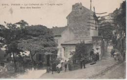 """PARIS ("""" Le Lapin Agile""""  Rue Des Saules ) - Distretto: 18"""