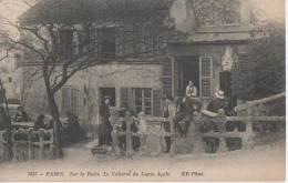 """PARIS (.sur La Butte  Le Cabaret  """" Le Lapin Agile """" ) - Distretto: 18"""