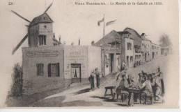 VIEUX MONTMARTRE ( Le Moulin De La Galette  En 1850 ) - Distretto: 18