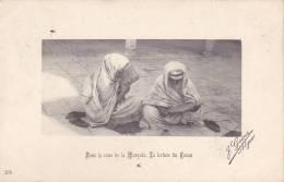 CPA - dans la cour de la mosqu�e - la lecture du coran - 276