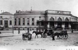 75 Photo De CP ,PARIS Gare De Sceaux - Non Classés