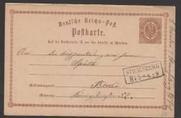 D.R.P1,mit Nachverw.Preußen-o,Strausberg (3026) - Deutschland