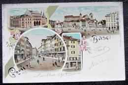 Basel  1903 Couleur  Pâtisserie  Leckerli - BS Basel-Stadt