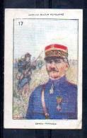 Collection Bozon Verduraz - Général Passaga - Série H N°17 - Vieux Papiers