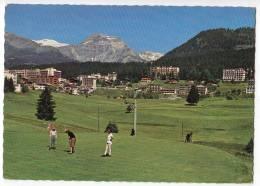 SPORTS GOLF GOLF COURSE CRANS S/SIERRE 1500 M SWITZERLAND POSTCARD - Golf