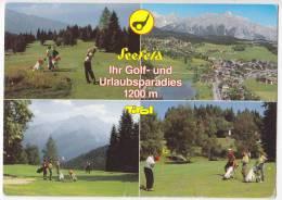 SPORTS GOLF GOLF CLUB SEEFELD WILDMOOS AUSTRIA POSTCARD 1992. - Golf