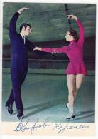 SPORTS FIGURE SKATING LJUDMILA SMIRNOVA AND ANDREJ SURAIKIN SSSR  POSTCARD - Figure Skating