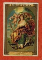 Chromo Chocolat Poulain -Musée Du Louvre -Tableau -La France - Portrait De Marie De Médicis - Ecole Flamande ( Rubens ) - Poulain